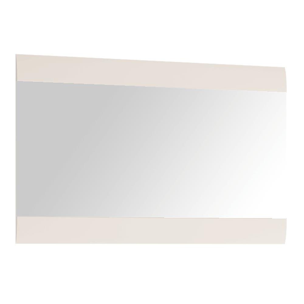 Kis tükör, fehér extra magas fényű HG, LYNATET TYP 122