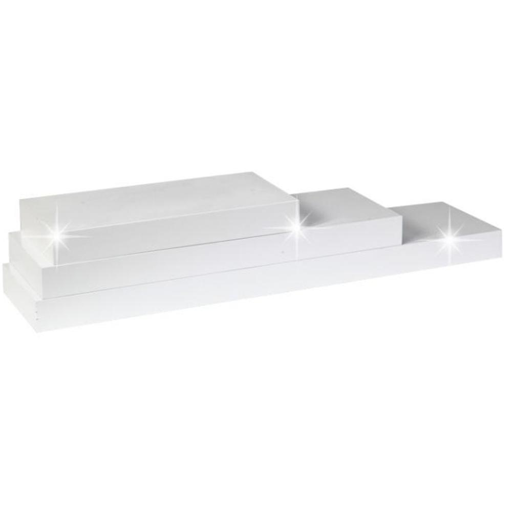 Polc, fényes fehéres, 30x25, GANA FY 11044-5