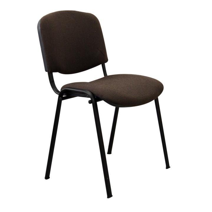 Stolička, hnedá, na bielom pozadí, ISO NEW