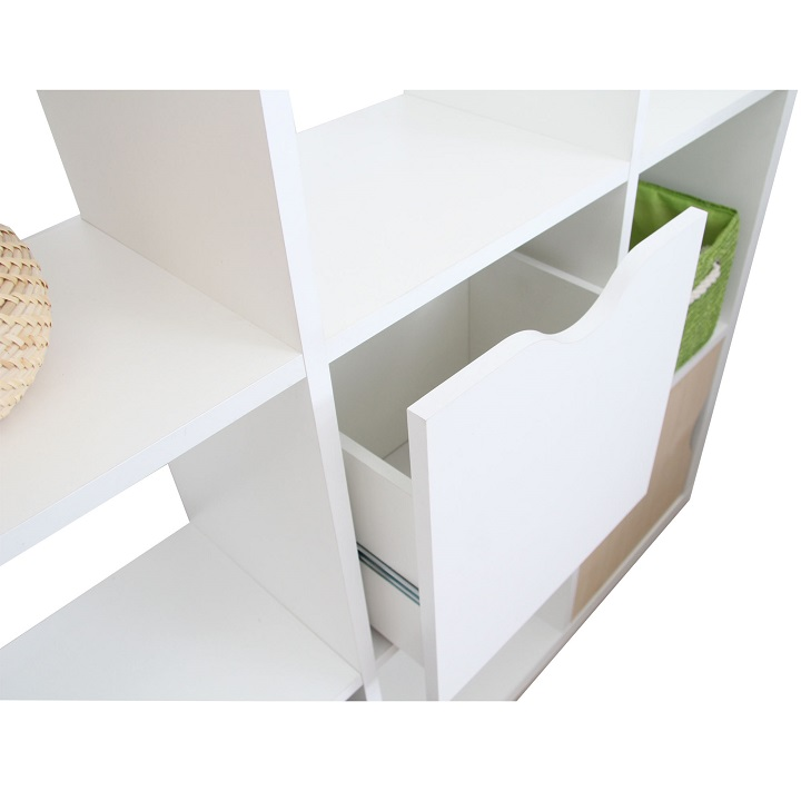 Regál, biela, TOFI BOX NEW