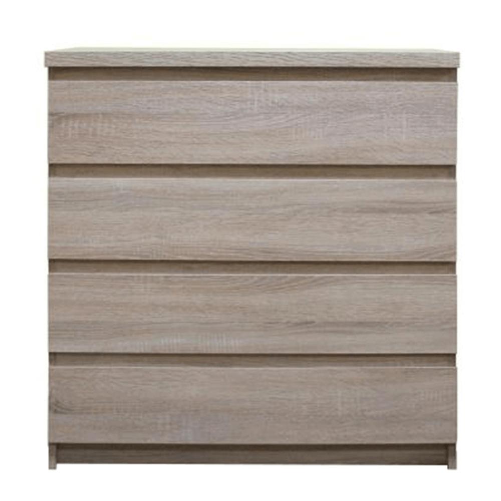 Comodă, 4-sertare, stejar sonoma, PANAMA typ 05