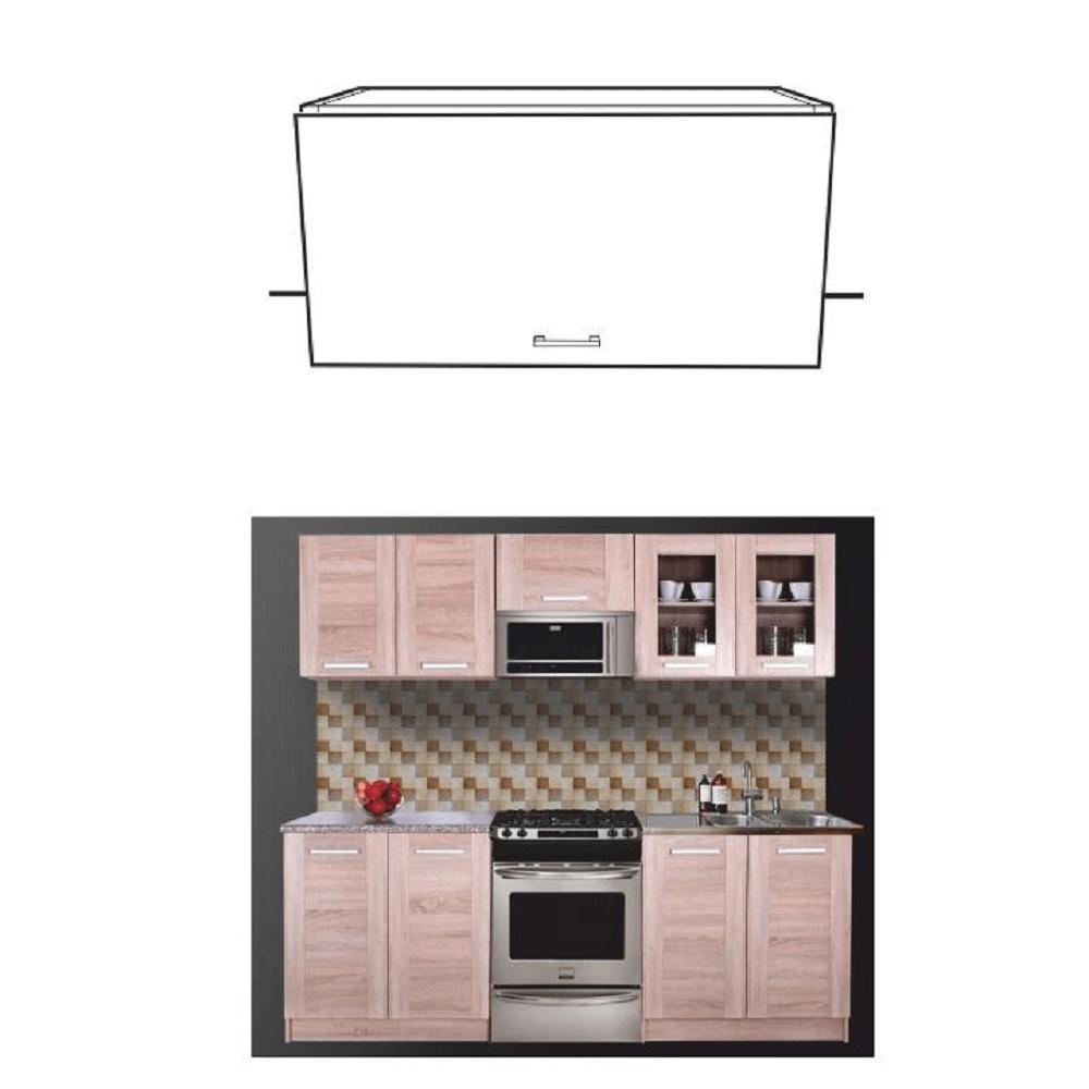 Dulap superior pentru bucătărie, stejar sonoma, NARCIS GO-60