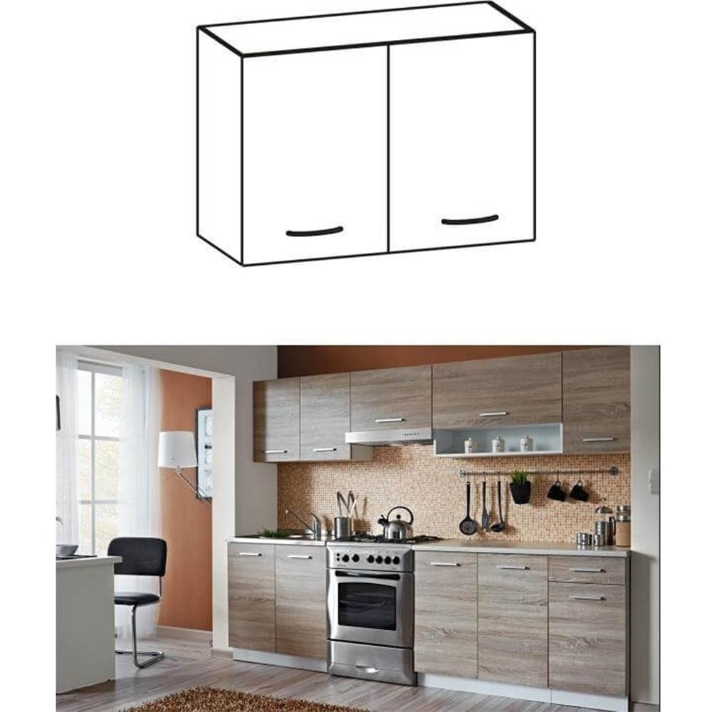 Dulap de bucătărie, superior, stejar sonoma/alb, CYRA NEW G 60