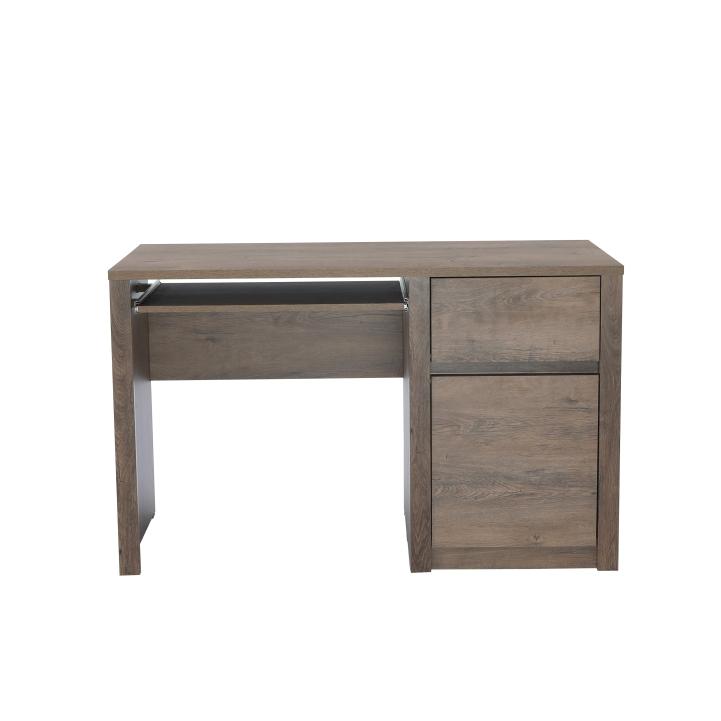 PC stolík s jednou zásuvkou a jednými dverami, dub lefkas, MONTANA B1