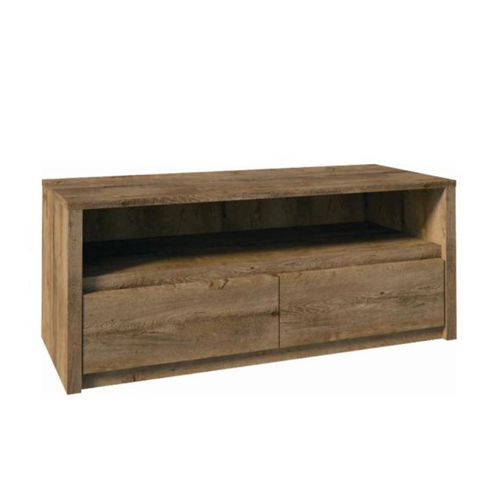 TV asztal / szekrényke, tölgyfa lefkas, MONTANA