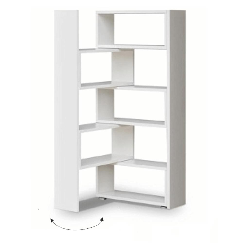 Etajeră, albă, KLOE II