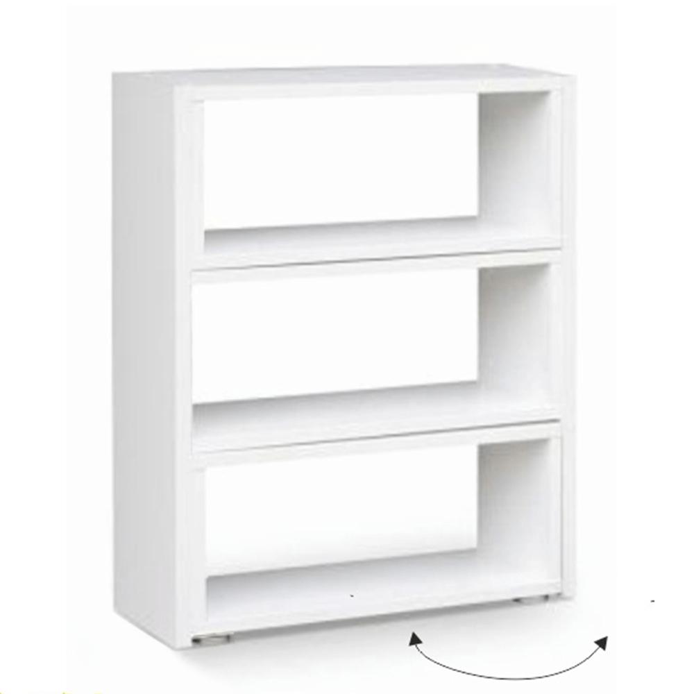 Etajeră, albă, KLOE III