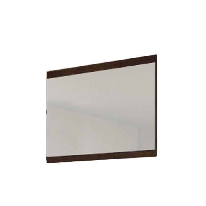 Zrkadlo, wenge, na bielom pozadí, HENRY