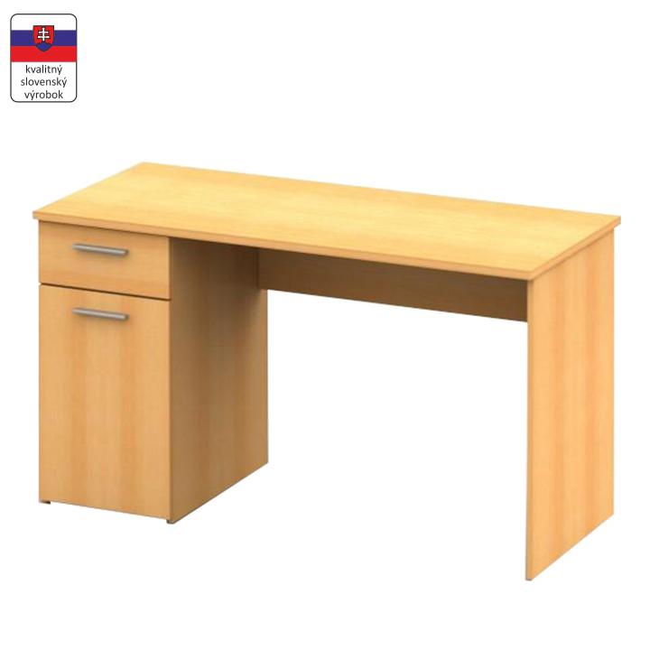 Písací stôl, buk, DTD laminovaná, EGON