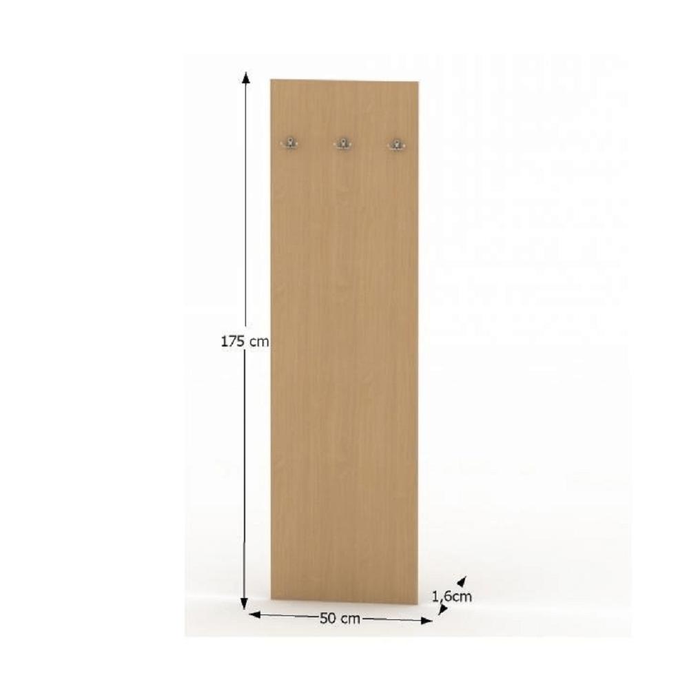 Vešiakový panel, buk, TEMPO ASISTENT NEW 030