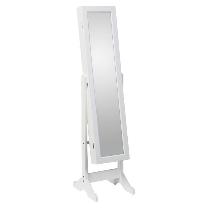Zrkadlo, biela, MIROR