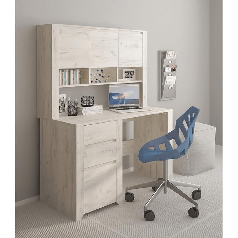 Suprapozabil pentru birou sau comodă tip 60,  alb craft, ANGEL