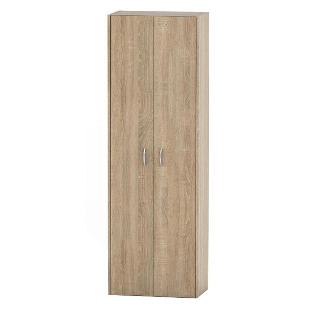 szekrény polcos, tölgy sonoma, TEMPO ASISTENT NEW 007