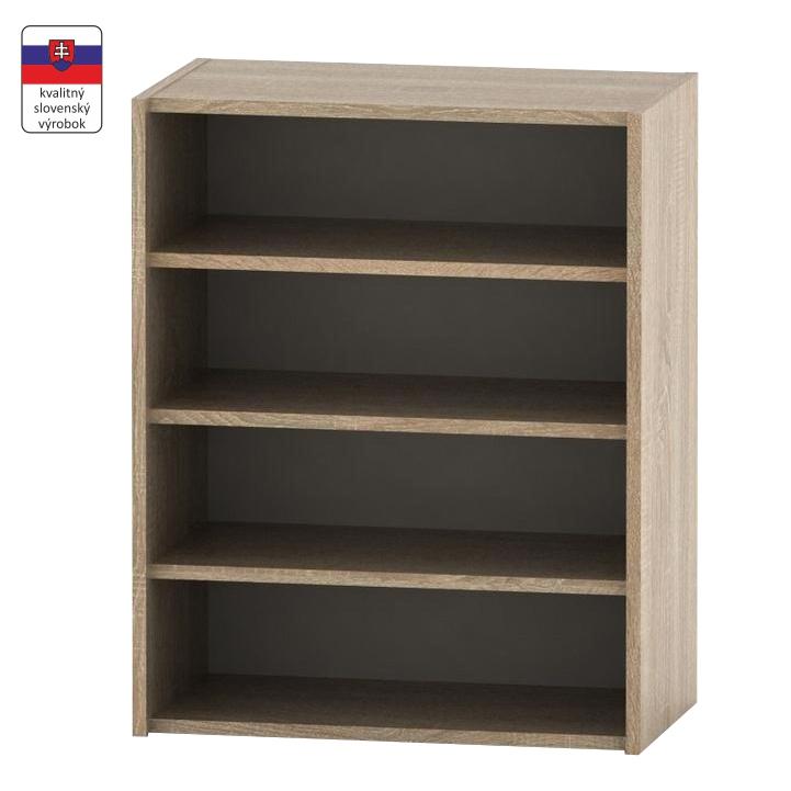 Nízka policová skrinka, dub sonoma, TEMPO ASISTENT NEW 013, slovenský výrobok