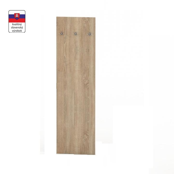 Panel vešiakový, dub sonoma, TEMPO ASISTENT NEW 030
