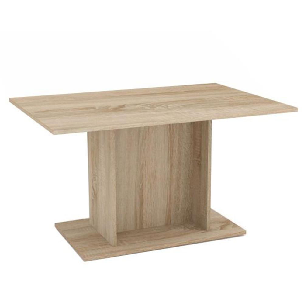 Étkezőasztal, tölgy sonoma, MODERN
