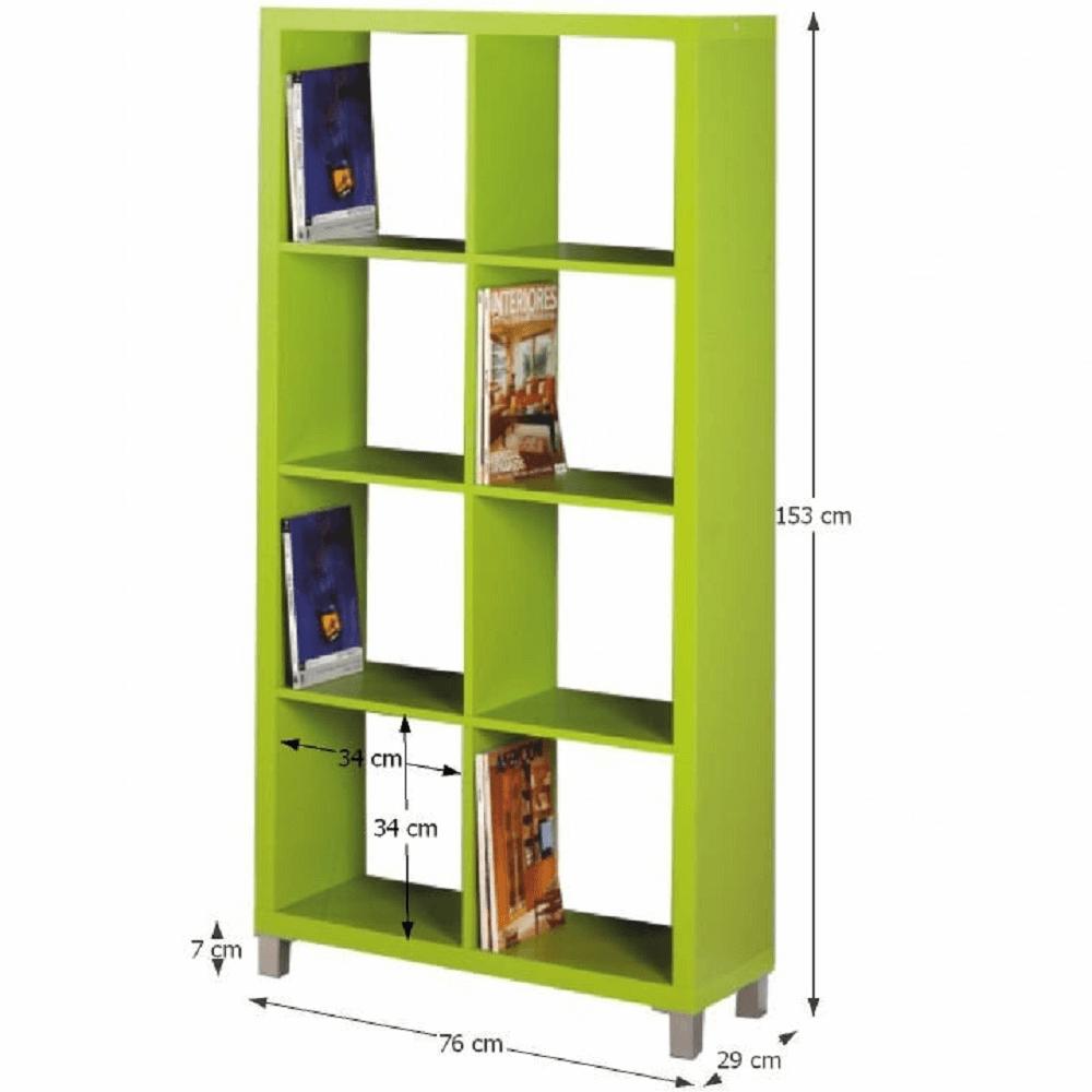 Etajeră, verde, TOFI 3 NEW