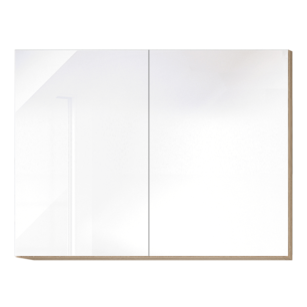 Felsőszekrény,G80, fehér magas fényű HG, LINE