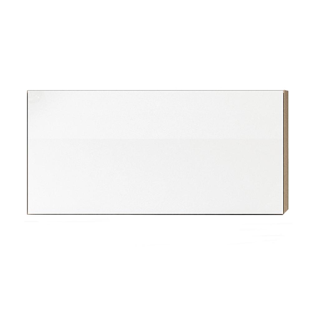 Felsőszekrény, fehér magas fényű HG, LINE