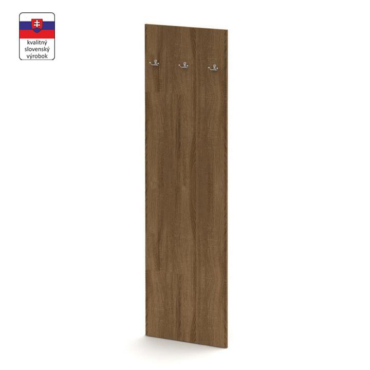 Panel vešiakový, bardolino tmavé, TEMPO ASISTENT NEW 030, slovenský výrobok