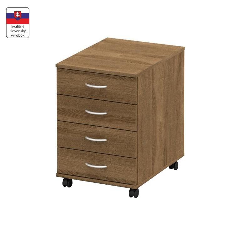 Kontajner so zámkom, bardolino tmavé, TEMPO ASISTENT NEW 015, slovenský výrobok