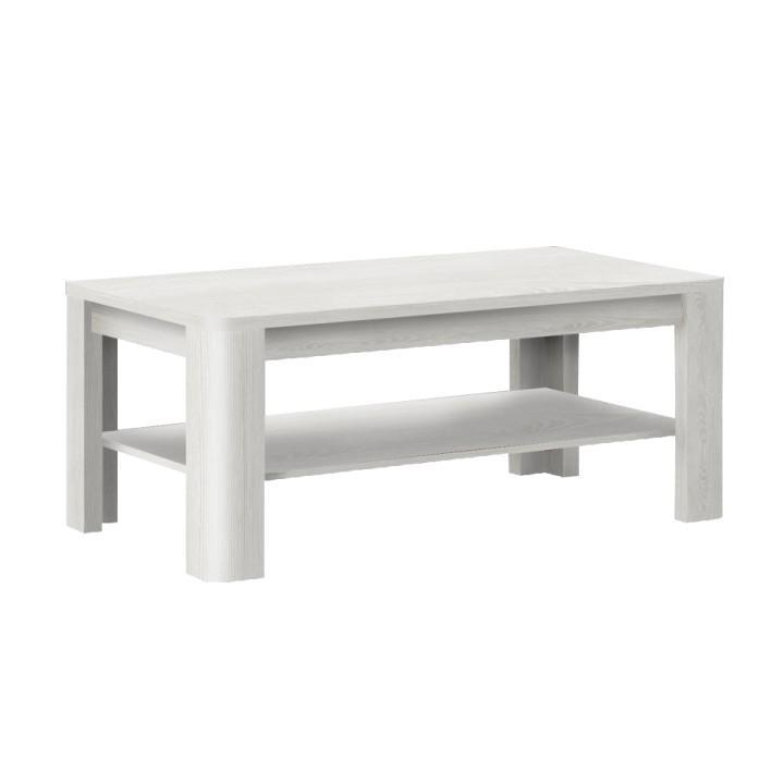SARKA - konferenčný stolík, biela, Tempo Kondela