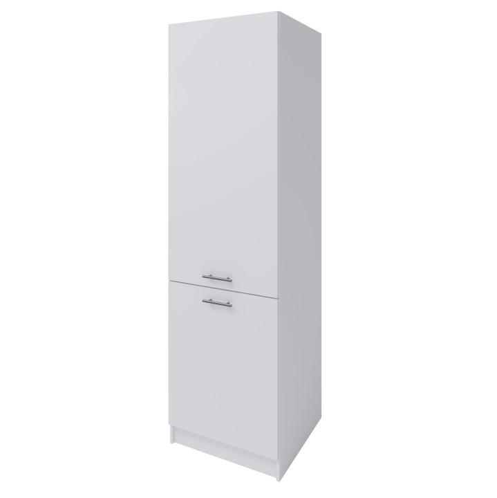 Potravinová skrinka, biela, FABIANA S - 60/210