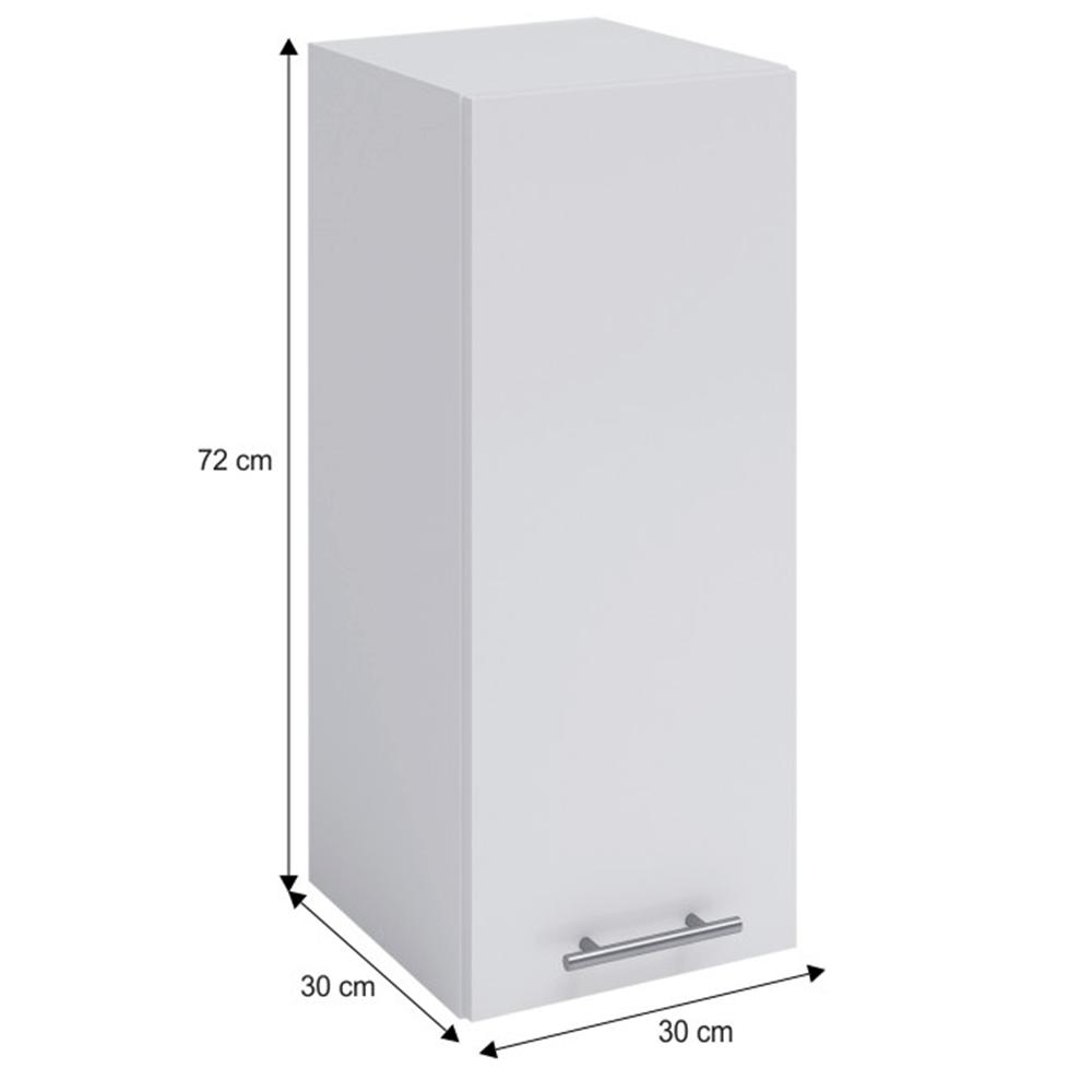 Dulap superior, alb, FABIANA W - 30