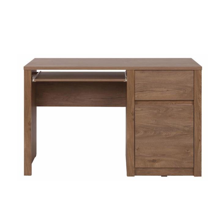 MONTE - PC stôl, dub lefkas, Tempo Kondela