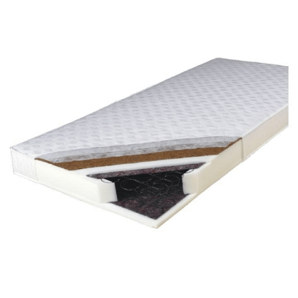 Rugós matrac, 160x200, KOKOS MEDIUM