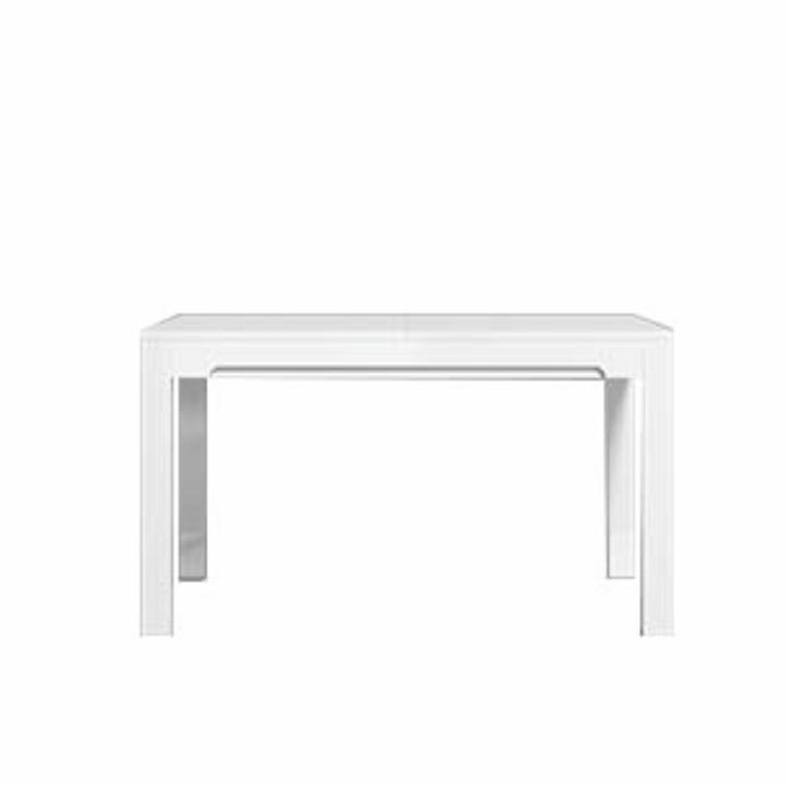 Jedálenský rozkladací stôl, san remo/biela matná, LORIEN LS 88