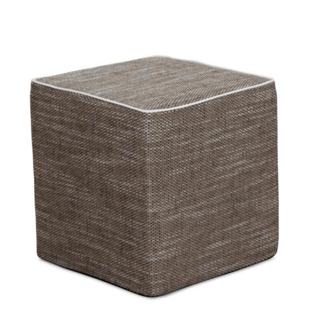 Taburet, material textil maro, COBE