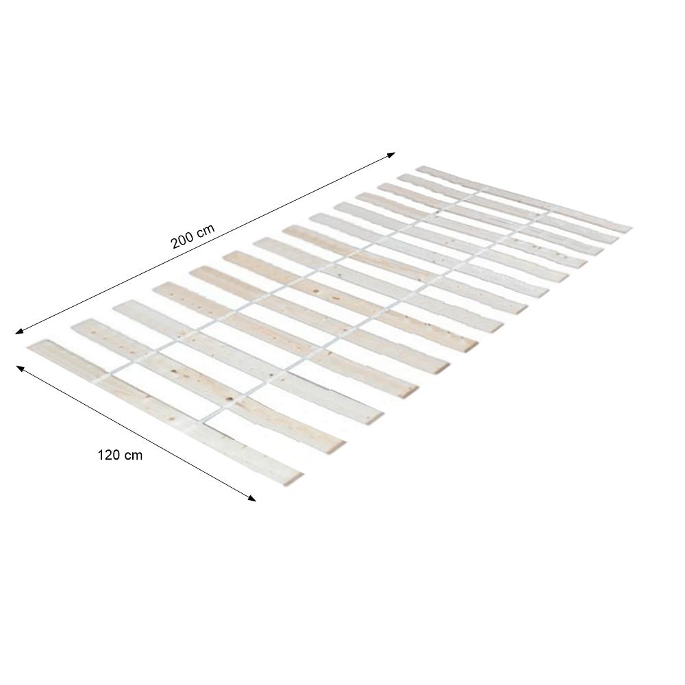 Léces ágyrács, PLAZA, 120x200 cm