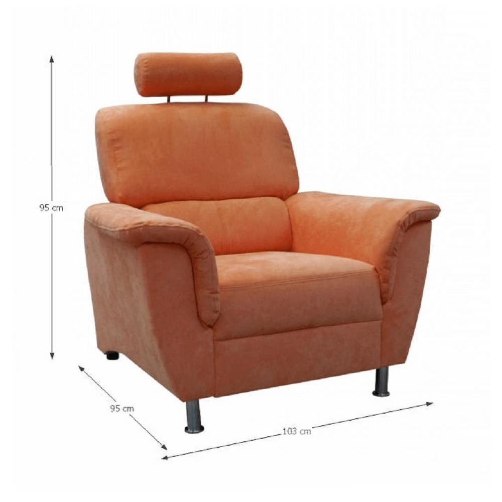 Fotoliu, culoare portocaliu, SAN DIEGO