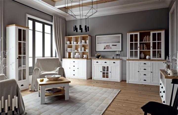 0e6db652afe3 Nábytok PROVANCE v provensálskom štýle. Sektorový nábytok premení vašu  obývačku na kúzelné miesto. V prevedení sosna andersen a dub lefkas  pripravené pre ...