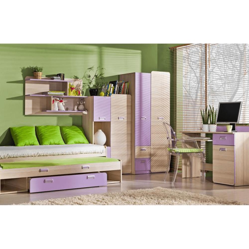 Set pat, frasin/violet,80x190, EGO L13