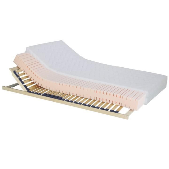 Matrac, penový, 90x200, na bielom pozadí, TEMPO 10