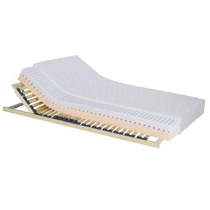 Matrac, penový, 90x200, na bielom pozadí, TEMPO 30
