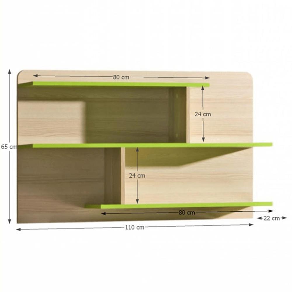 Raft, combinat, frasin/verde, EGO L8