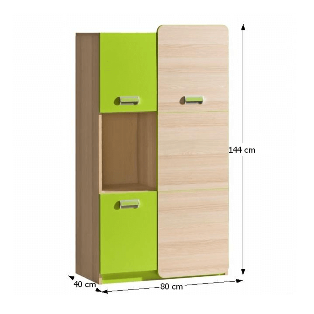 Dulap, frasin/verde, EGO L5