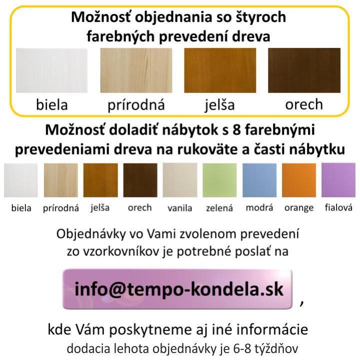 Posteľ, sosna/modrá, 200x90, dostupné farebné prevedenia, JAS 2