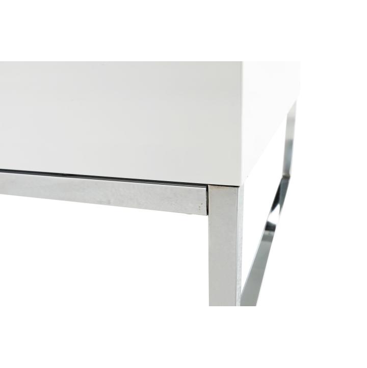 Konferenčný stolík, biela extra vysoký lesk HG, LOTTI, detail