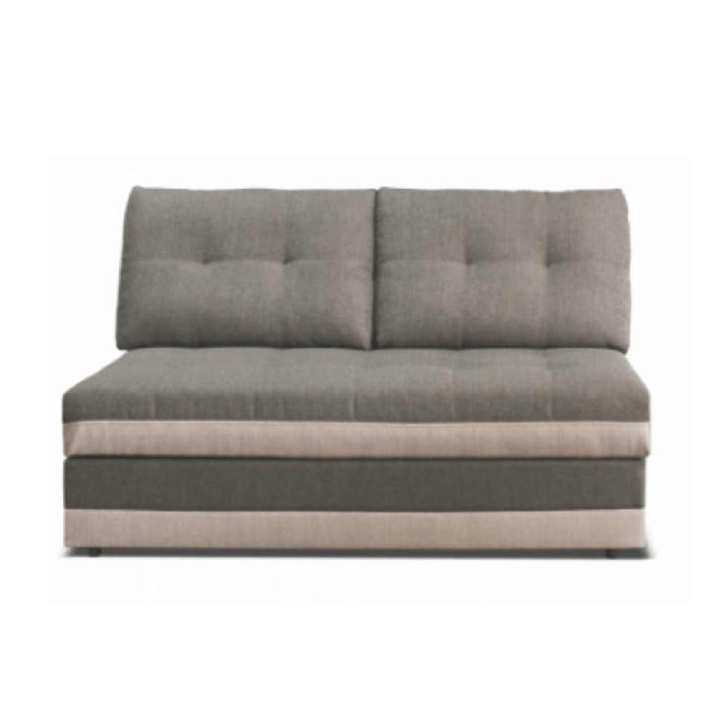 2-személyes kanapé rakodótérrel, szövet Inari 91 szürke + Inari 22 bézs, RUBA