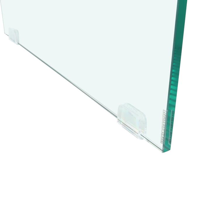 Konferenčný stolík so zásuvkou, betón, DAISY NEW, detail nožičky