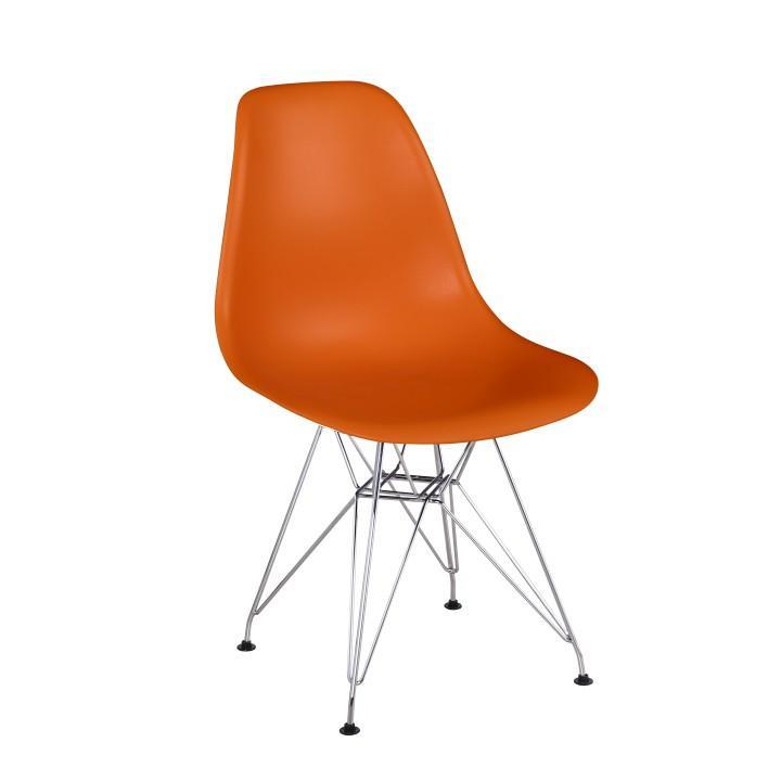 Stolička, oranžová, ANISA