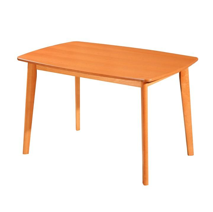 Étkezőasztal, 120x80, cseresznye, ROSPAN