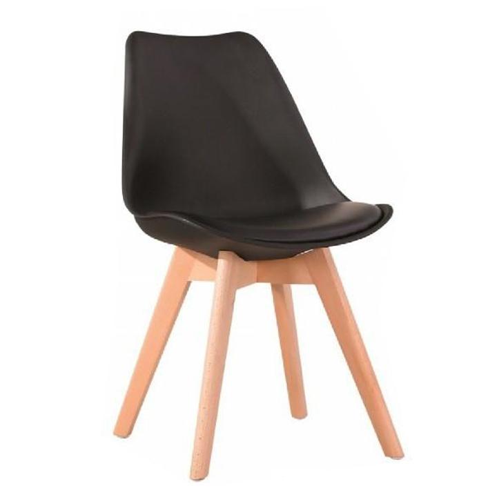 d1702f83a Jedálenská stolička Bali New, čierna /buk   temponabytok.sk