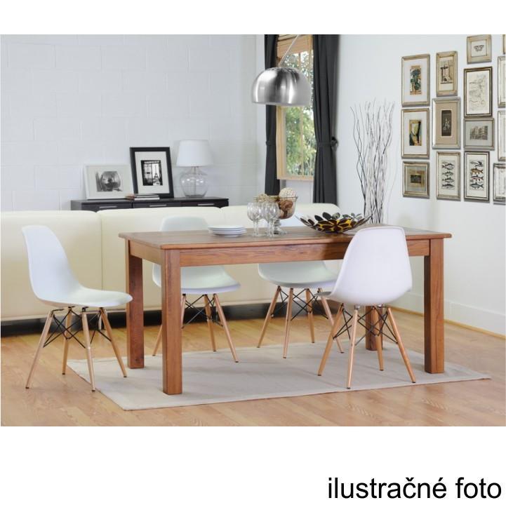 Stolička, tmavohnedá/buk, ilustačná fotka jedálenských stoličiek, CINKLA 2 NEW