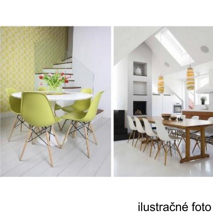 Stolička, tmavohnedá/buk, ilustračná fotka stoličiek, CINKLA 2 NEW