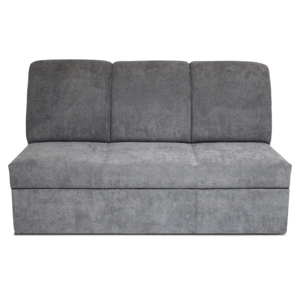 Tripla kanapé, szövet szürke, IZA NEW